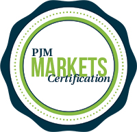 PJM Markets Certification Seal